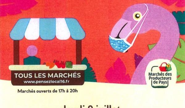 09 JUILLET : MARCHÉ DES PRODUCTEURS DE PAYS